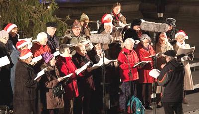 One Voice Choir – Carols at Tesco 11th December